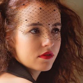 Michaela  by Michaela Firešová - People Portraits of Women ( long hair, woman, beauty, portrait )