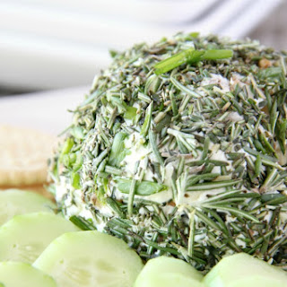 Garlic & Herb Goat Cheese Ball