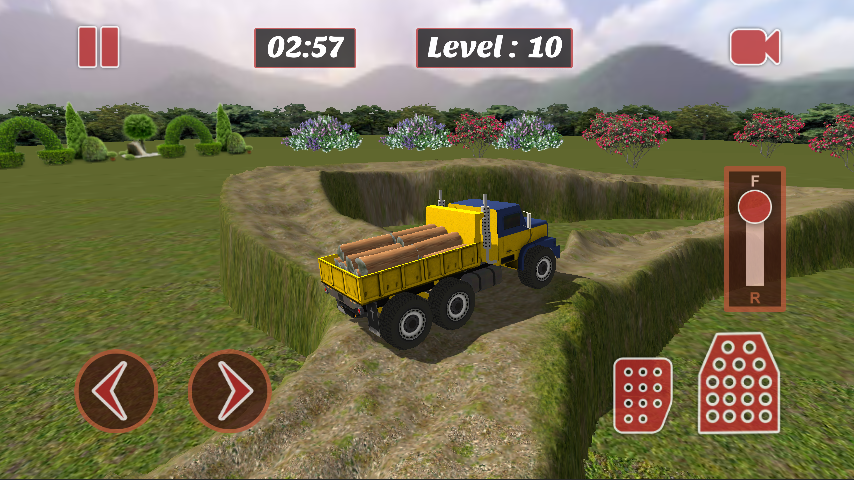 Mountain Truck Parking Sim- screenshot