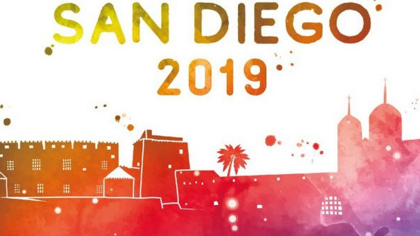 Cartel de las Fiestas de Cuevas del Almanzora de 2019.
