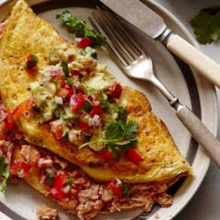 Mexican Omelet With Fresh Salsa