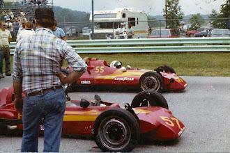 Photo: John Hogdal in Napmobile @ Road America 1981