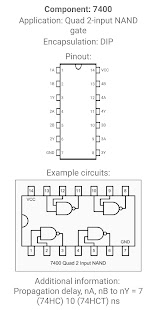 Electronic Component Pinouts Full - náhled