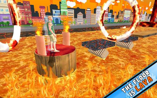 The Floor is Lava Game apkbreak screenshots 1