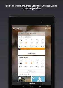 App Met Office Weather Forecast APK for Windows Phone