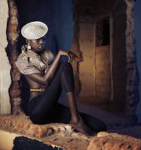 Photo: New work: African queen - shot in the ruins of Kampala, Uganda.