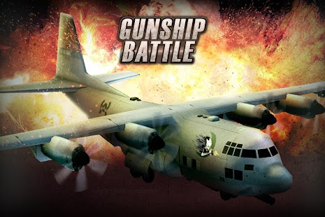 GUNSHIP BATTLE: Helicopter 3D Screenshot