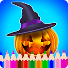 Halloween Painting & Coloring icon