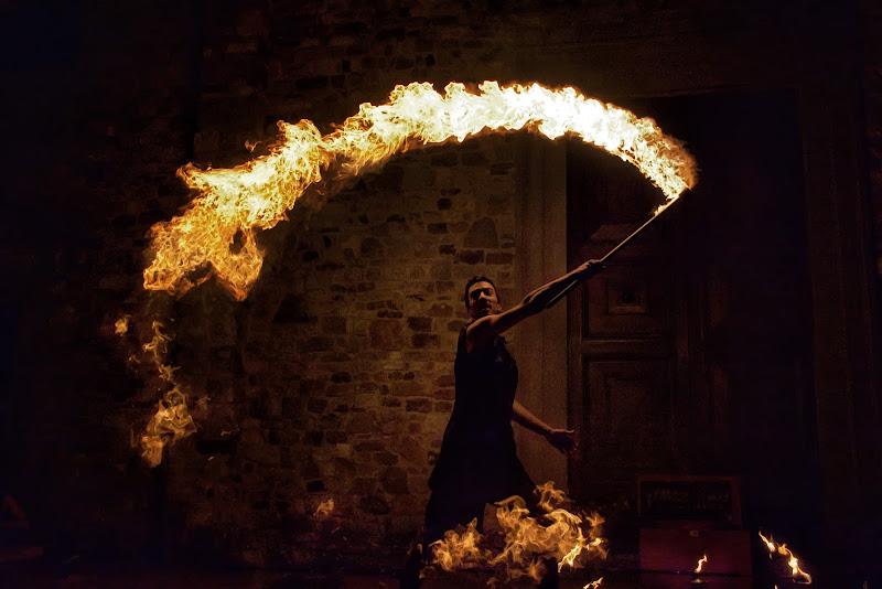 La magia del fuoco di Patrix