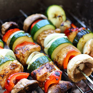 Balsamic Chicken Skewers.