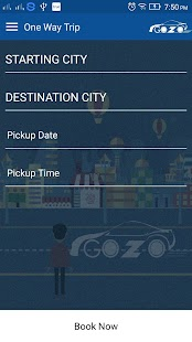 Gozocabs – Inter-City Taxi App- screenshot thumbnail