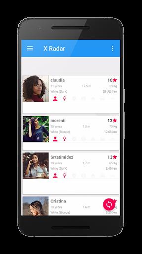 X Radar - Dating and meeting single women and men Screenshot