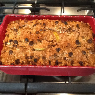 Healthy(er) GF Pumpkin Apple Pie Bake (Low Glycemic)