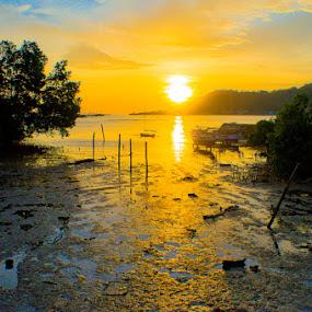 by Moeng Steve Satoe - Landscapes Sunsets & Sunrises