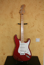 Photo: Fender (built in Mexico) Stratocaster (imported from USA)