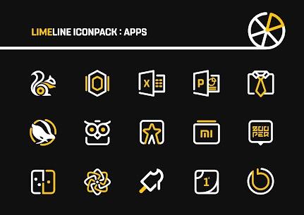 LimeLine Icon Pack : LineX (MOD, Paid) v1.9 5