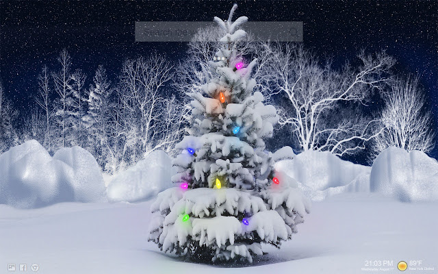 Christmas Santa Minion NewTab Backgrounds