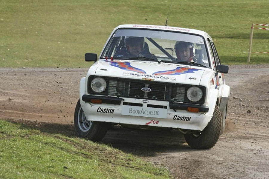 Ford Escort Rs [rally Car] Hire Birmingham