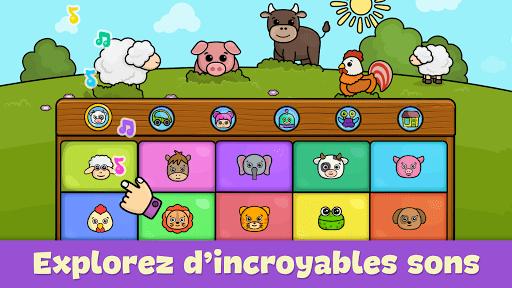 Piano bébé – jeux pour enfants  captures d'écran 3