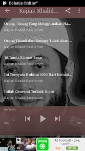Kajian Khalid Basalamah Baru Screenshot