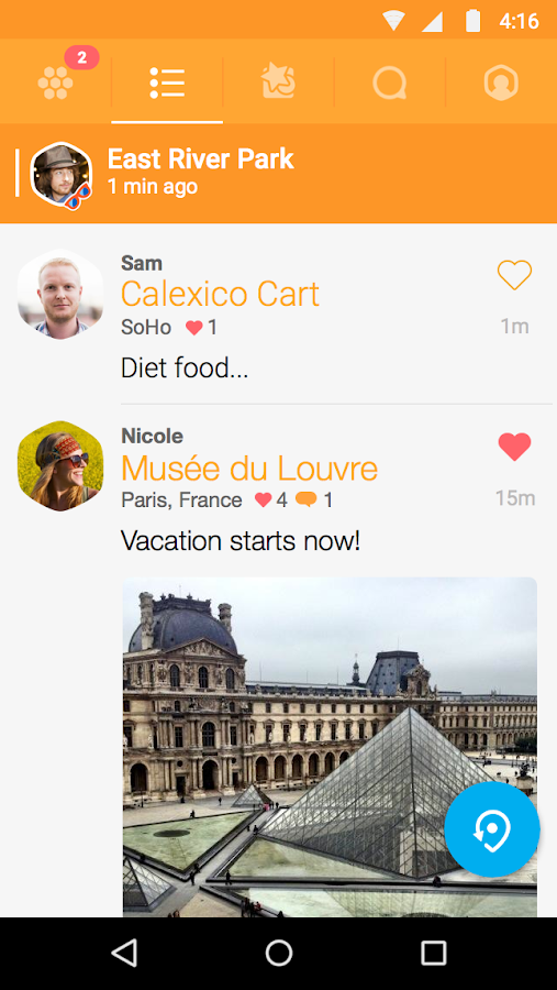 Swarm by Foursquare - screenshot