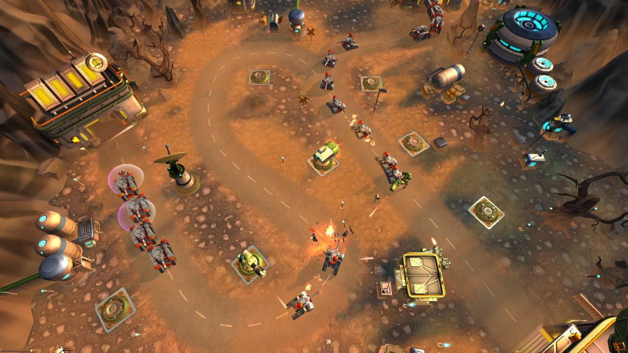 Tower Defense Generals TD- screenshot