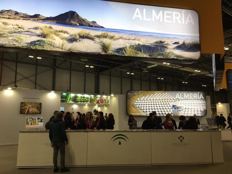 Stand de la provincia de Almería en Fitur.