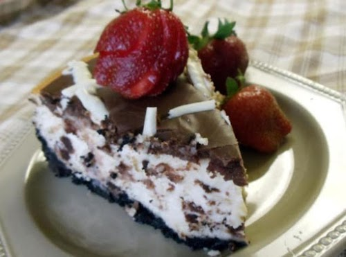 """Brownie Cheesecake """"This cake is absolutely divine - I served it to..."""