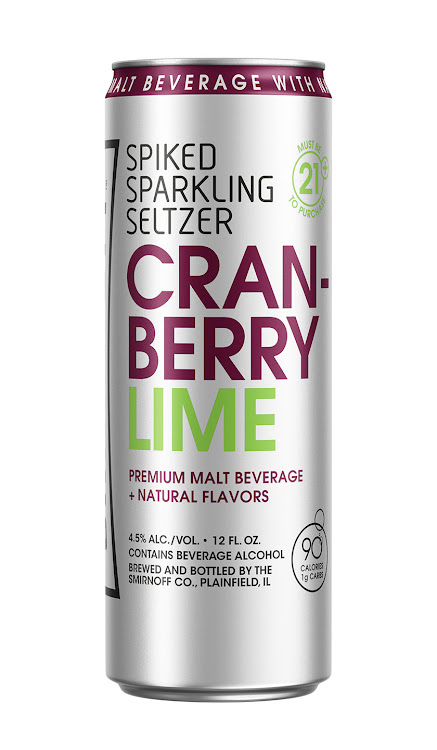 Logo of Smirnoff Spiked Sparkling Seltzer- Cranberry Lime