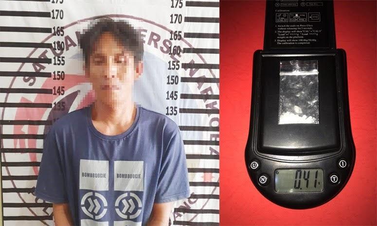 Pengedar Narkotika Ditangkap Polres Tulang Bawang