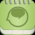 Speech FlipBook icon