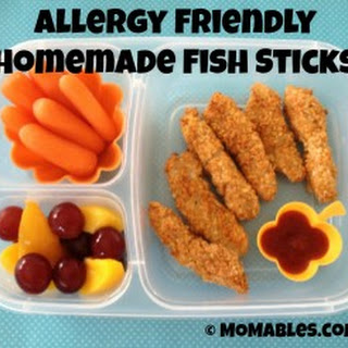 Allergy-Friendly Homemade Fish Sticks