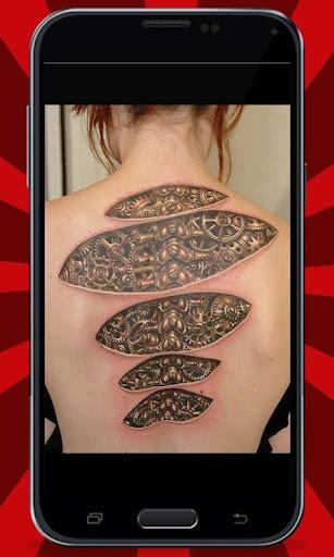Amazing 3D Tattoo Designs