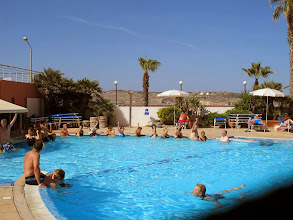 Photo: 507 SPB.Qawra.hôtel Dolmen, aquagym