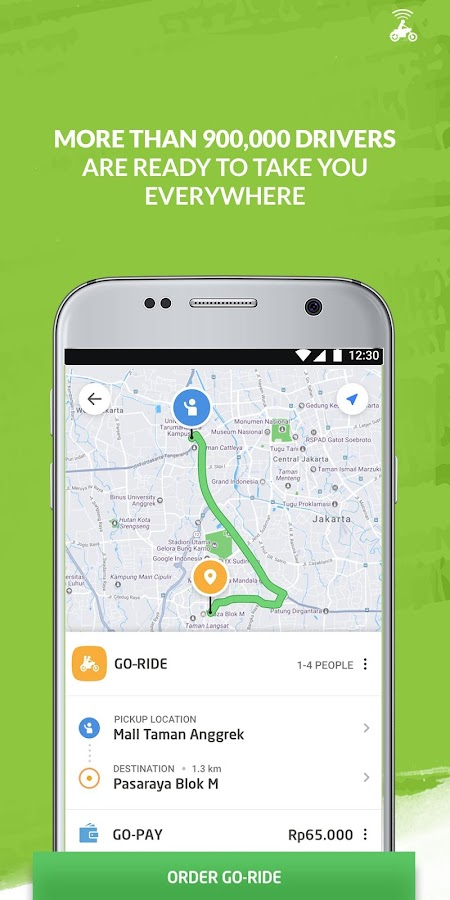 GO-JEK- screenshot
