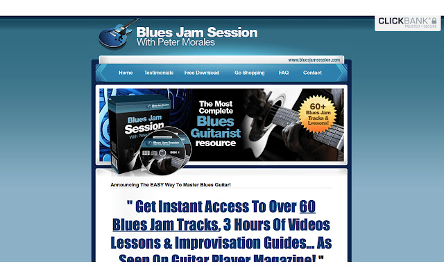 Learn Blues Guitar with Backing Tracks