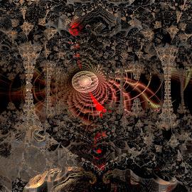 Climate Controlled by Rick Eskridge - Illustration Sci Fi & Fantasy ( fantasy, jwildfire, mb3d, fractal, twisted brush )