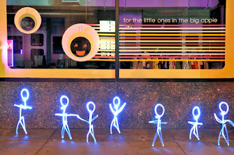 Photo: Little Ones - Light painting by Christopher Hibbert, french photographer and light painter. Further information: http://www.christopher-hibbert.com