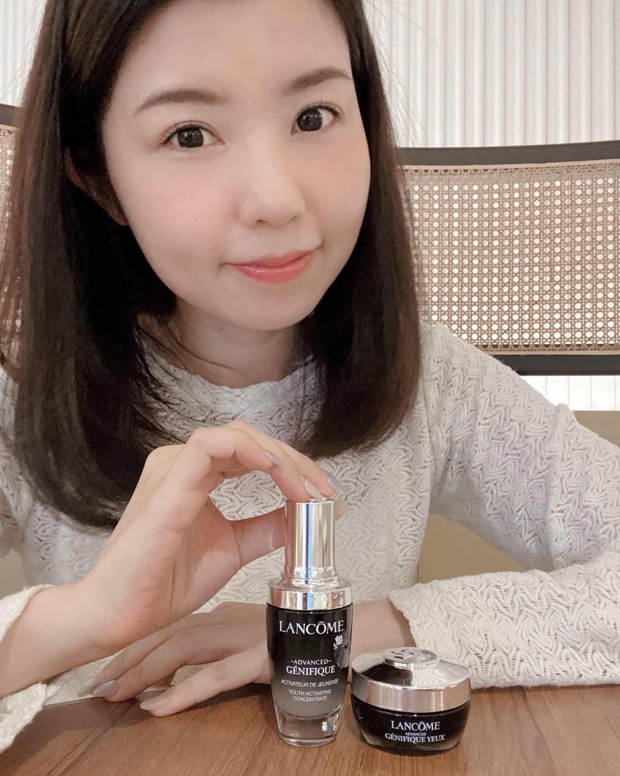 益菌護膚維持肌膚微生態健康~Génifique小黑瓶+發光眼霜