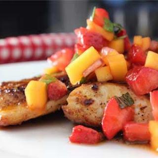 Mahi-Mahi with Strawberry and Mango Salsa