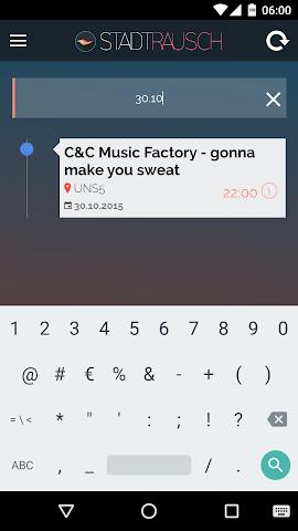 android Stadtrausch Amberg Screenshot 2