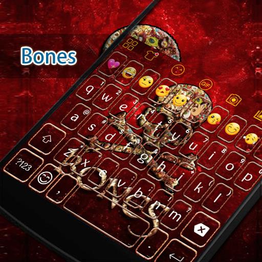Skull Bones Eva Keyboard -Gifs 遊戲 App LOGO-硬是要APP
