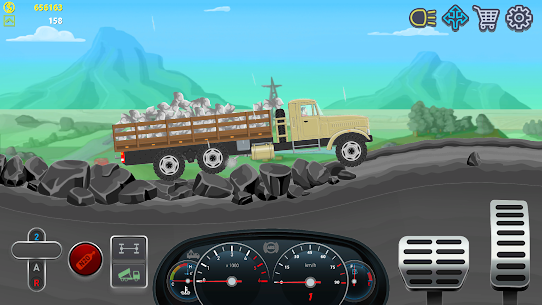 Trucker Real Wheels – Simulator MOD APK [Unlimited Money] 4