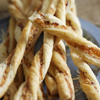 Twisted Cheese and Marmite Straws