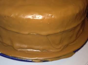 Old Timey Caramel Icing