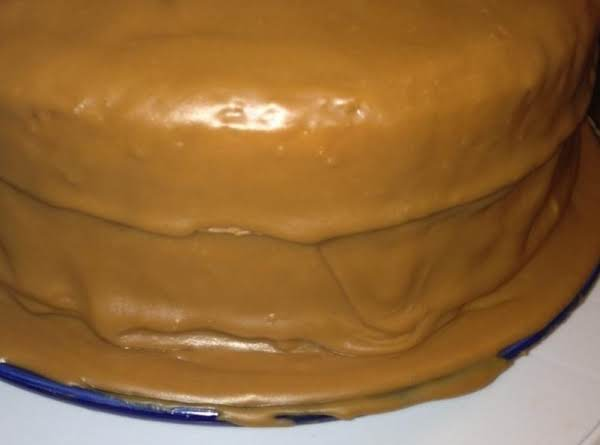 Old Timey Caramel Icing Recipe