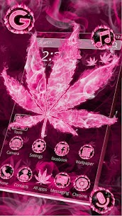 Pink Smoky Fire Rasta Weed Themes HD Wallpapers 1.0 Android Mod + APK + Data 3