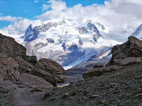 Photo: Monte Rosa from the Hornli