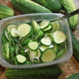 Cucumber Vinegar Salad