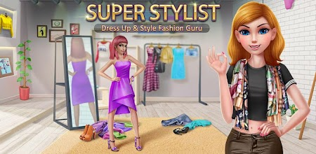 Super Stylist - Dress Up & Style Fashion Guru APK poster
